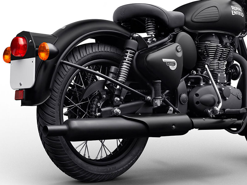 royal enfield classic stealth black euro4