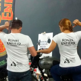 royal enfield tenerife