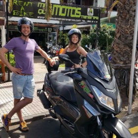 Motorrad mieten in Teneriffa