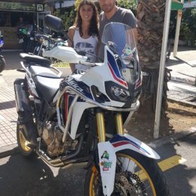 De ruta en moto por Tenerife