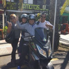 Alquiler de motos puerto de la cruz