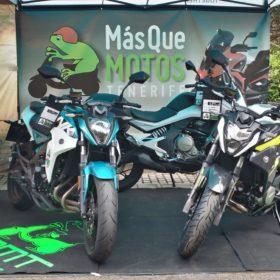 Más que Motos Tenerife Exposición