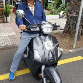 Alquilar scooter Tenerife Mas que Motos