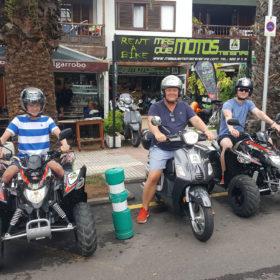 motorbike rental puerto de la cruz