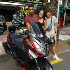 Rent a motorbike in Tenerife