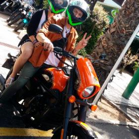 motorradvermietung puerto de la cruz